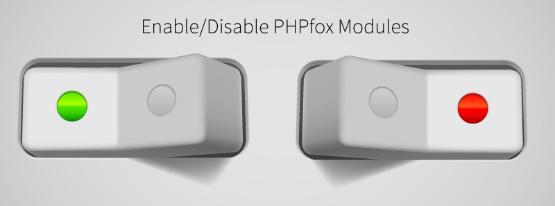 Enable/Disable PHPfox Modules