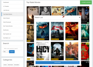 phpFox app Movie System by Cespiritual