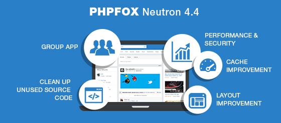 phpFox Neutron 4.4 - Performance Improvement