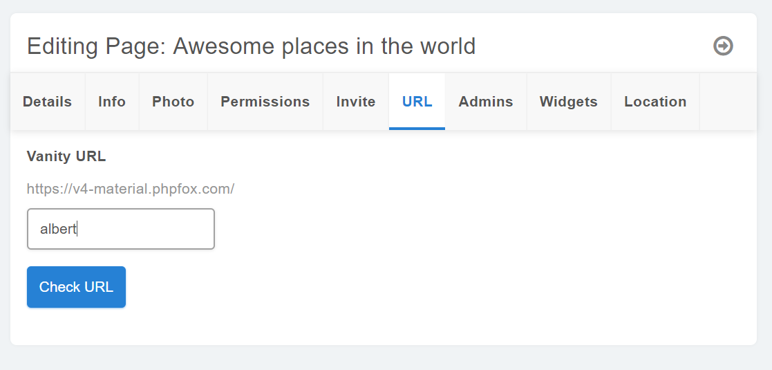 Page - Invite