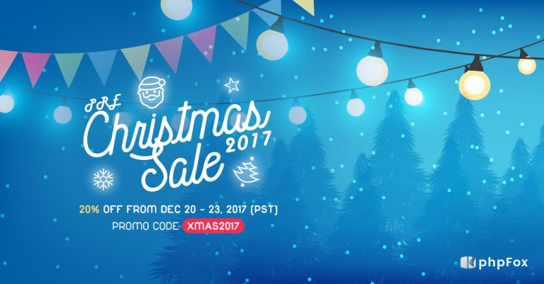 Christmas Holiday Sale from phpFox