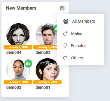 new members block