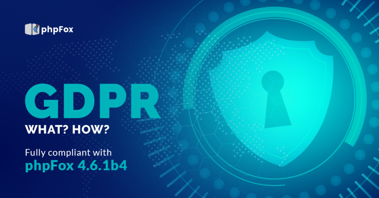 GDPR compliance with phpFox 4.6.1 build 4 Release