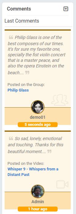comments block