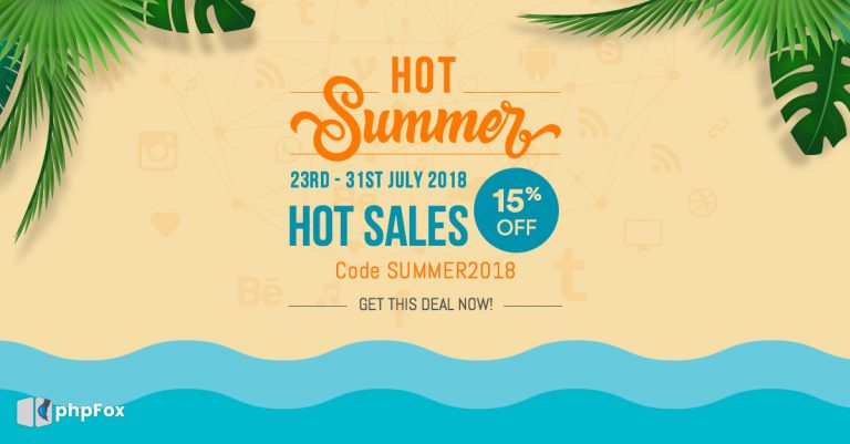 Hot Summer – Hot Sales 2018