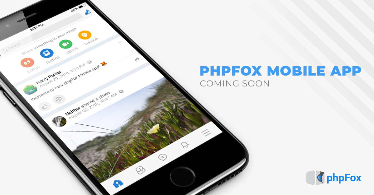 phpFox Mobile app