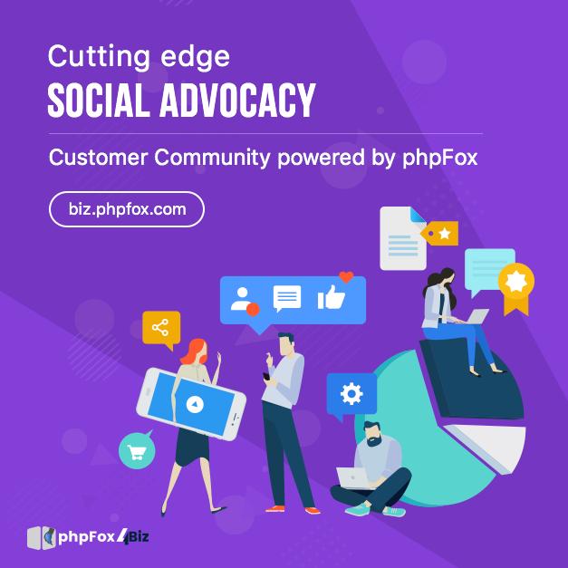 CuttingEdge Customer Community by phpFox