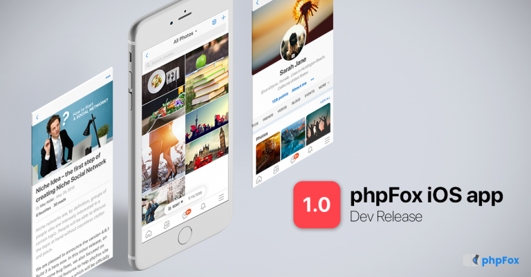 phpFox iOS Mobile App 1.0 Developer Release