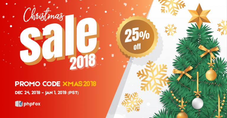 Christmas Sale 2018 – The Gifts Are Coming To Town!