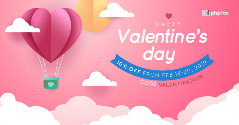 Love is all around on Valentine Promotion 2019!