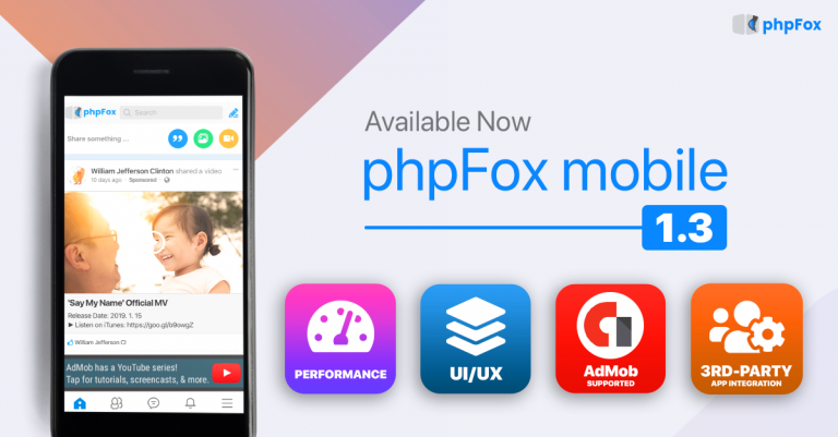 phpFox Mobile App version 1.3 Official Release