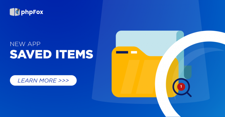 New Saved Items app is here and more