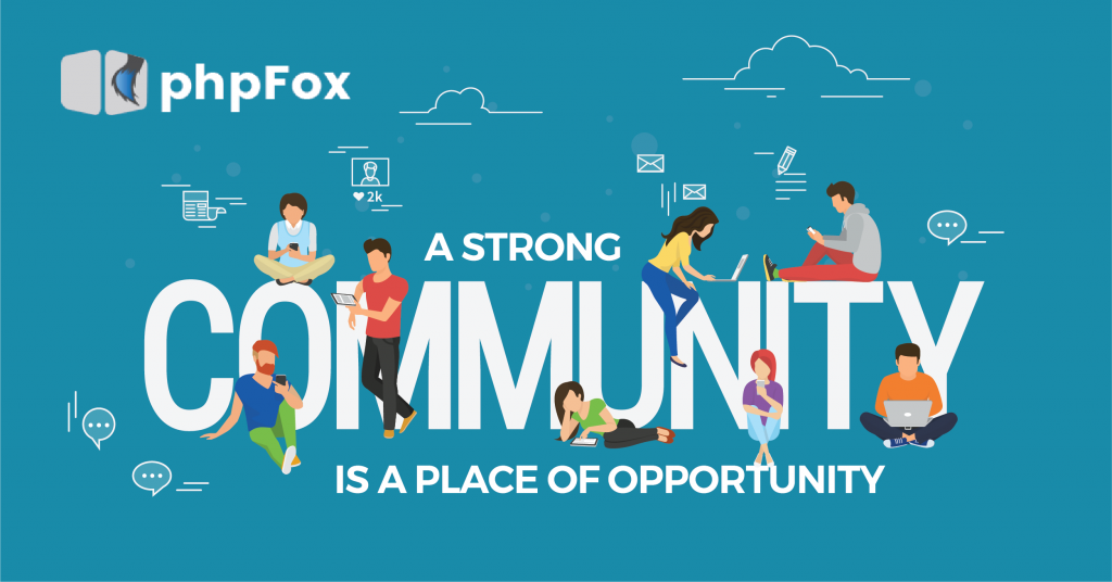 A strong community is a place of opportunity.
