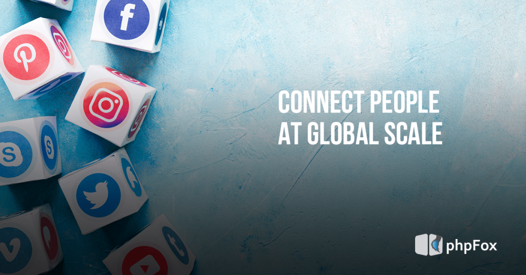 Connecting people at global scale