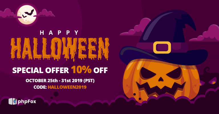 Happy Halloween 2019 with Spooktacular Sales