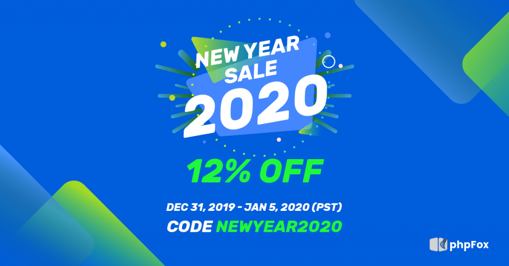 New Year Sales 2020