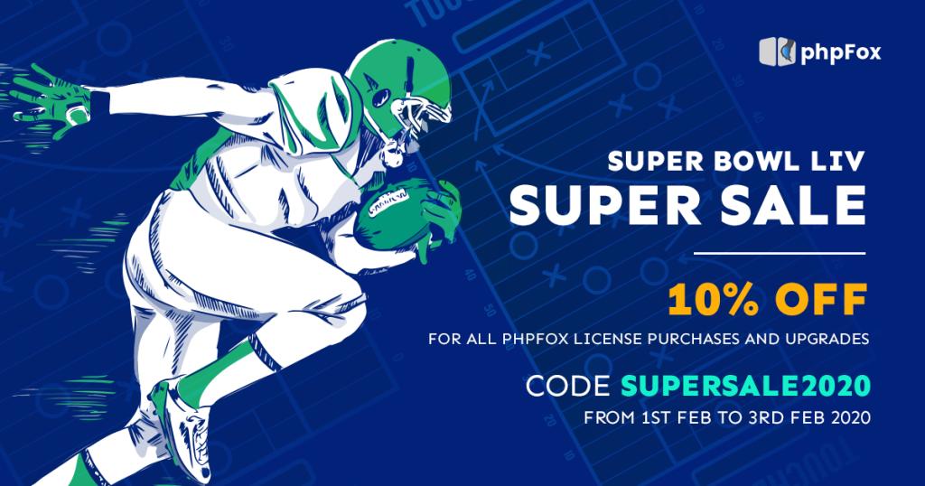 phpFox SuperBowl Sunday Sale 2020