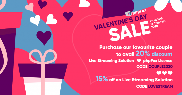 phpFox Valentines Day Sale 2020