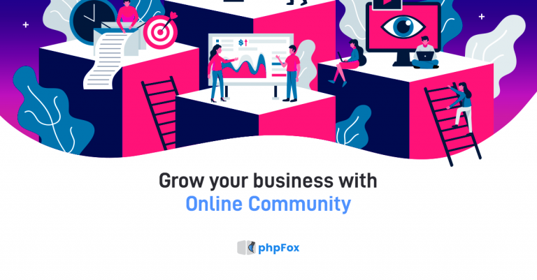 Grow your business with Online Community