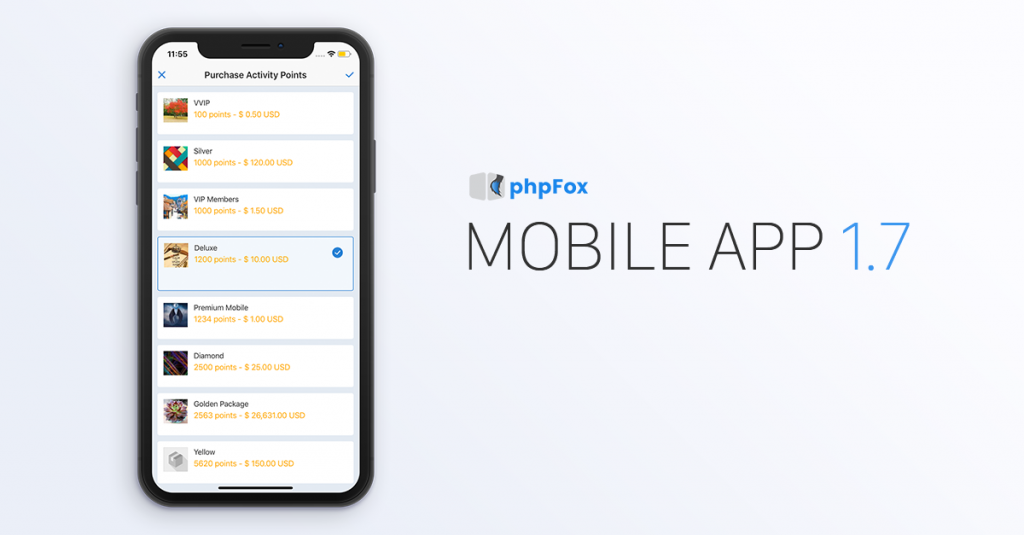 phpFox Mobile App 1.7 Official Release