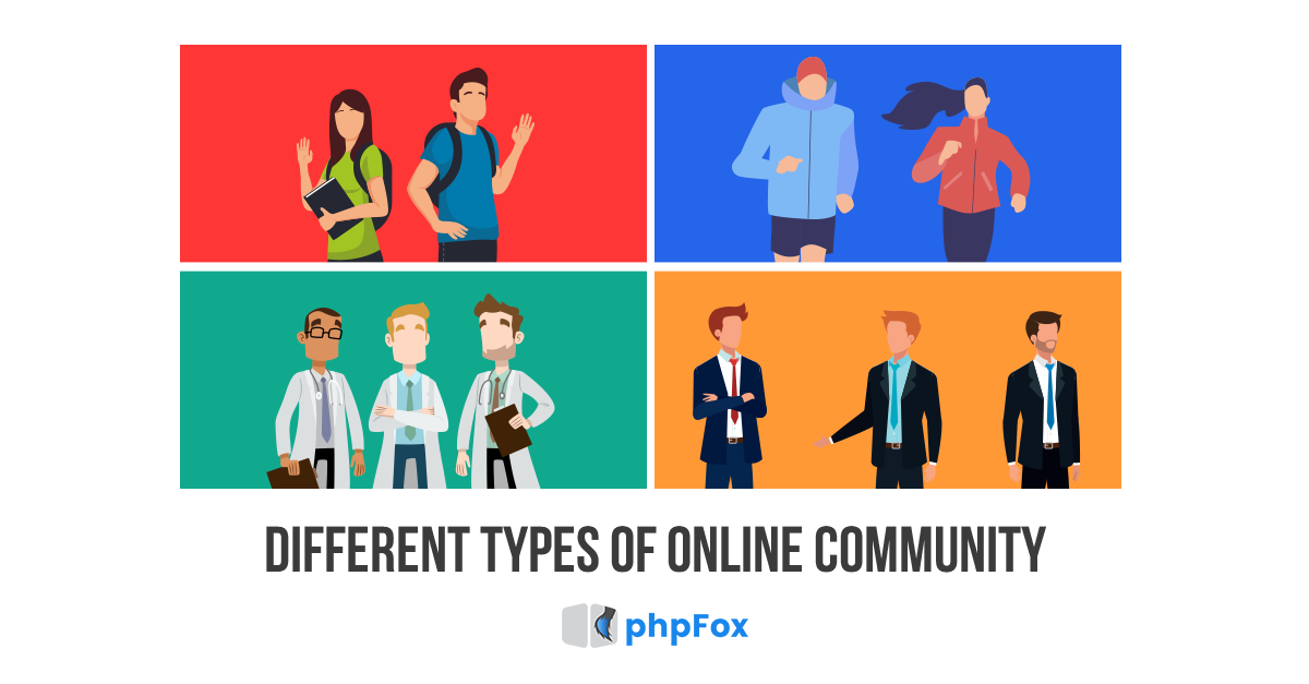 different types of online communities