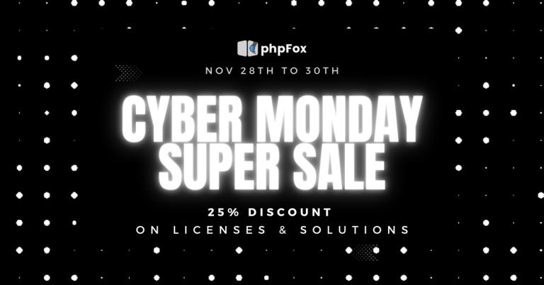 Cyber Monday 2020 Big Sale