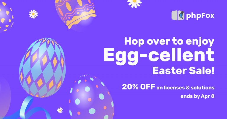 Easter Sale 2021 – Hop to it!