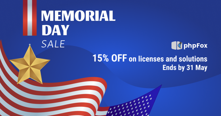 Memorial Day Sale 2021 – The prices dropped just for you