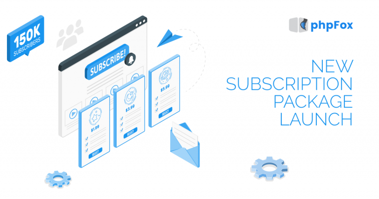 phpFox New Subscription Packages