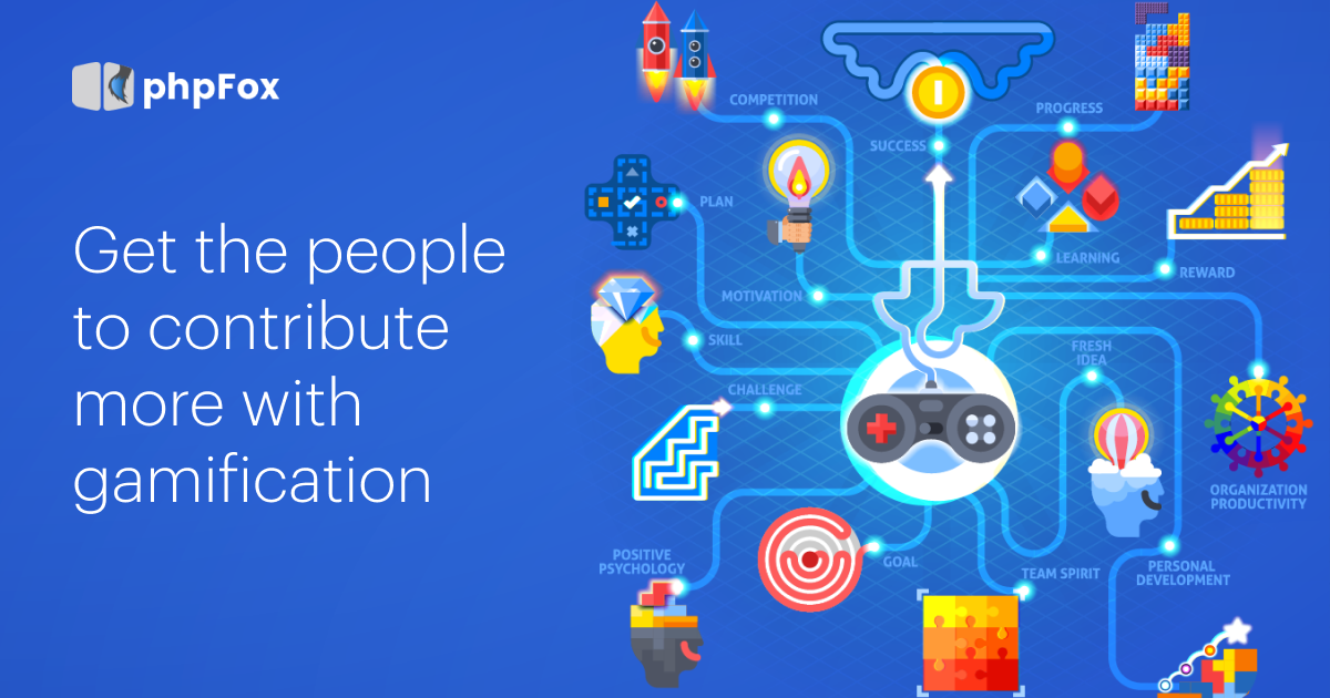 Get the People to Contribute More with Gamification   Feature   phpFox-gamification