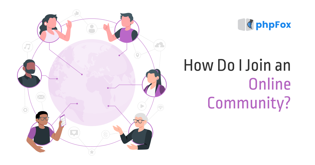 How Do I Join an Online Community? |Feature| phpFox-olcom